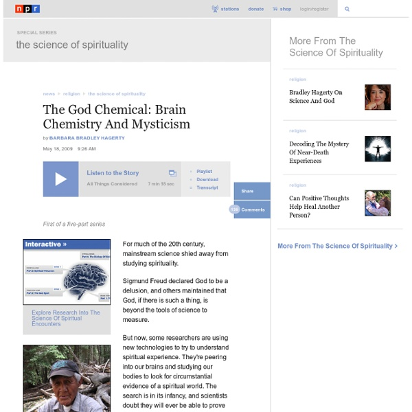 The God Chemical: Brain Chemistry And Mysticism