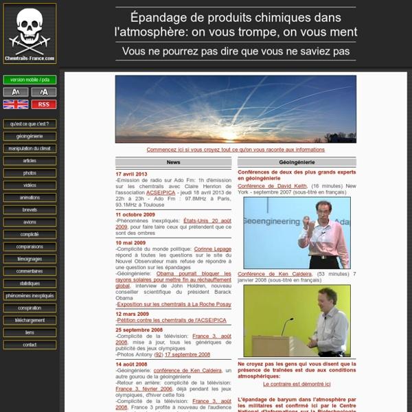 Chemtrails-France.com
