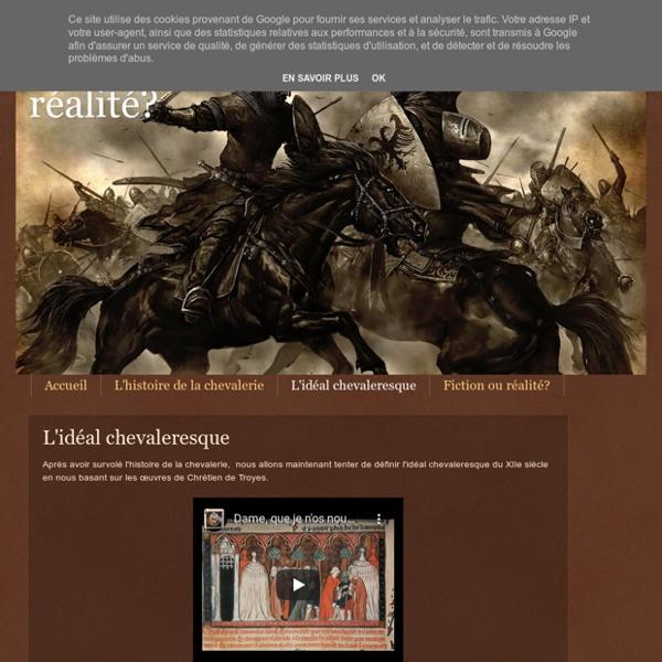 Mythe ou r alit l 39 id al chevaleresque pearltrees - Le cycle arthurien et les chevaliers de la table ronde ...