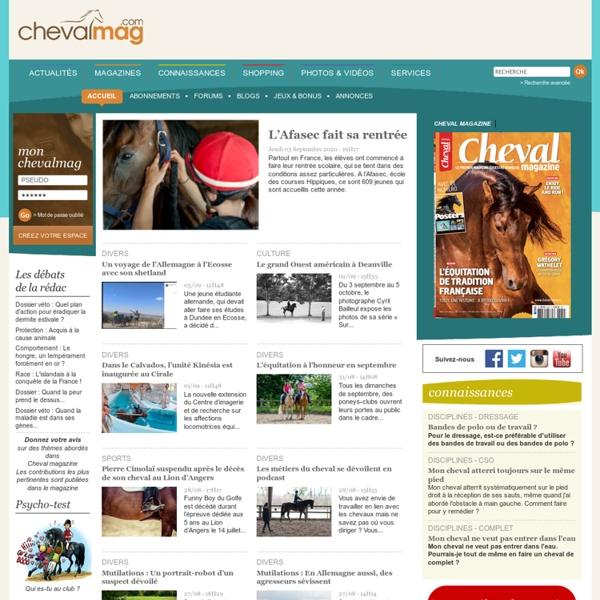 Chevalmag - Cheval magazine