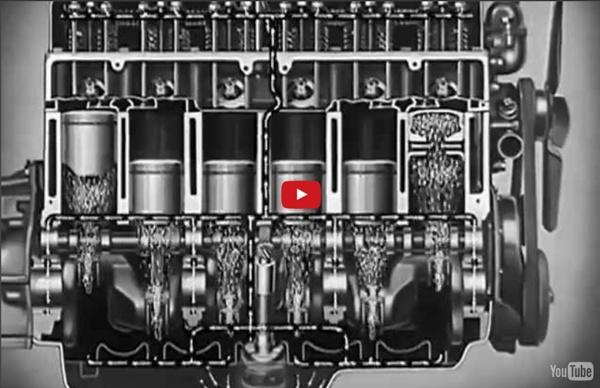 "Motor Oil: ""Riding the Film"" 1937 Chevrolet Engine Lubrication 11min"