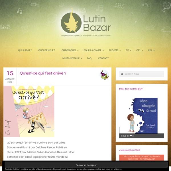 Chez Lutin Bazar - ressources mater-cp dont certaines utilisables en alpha