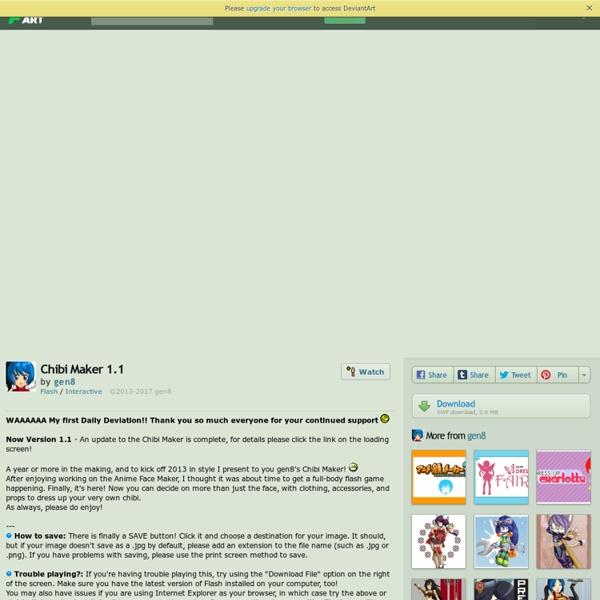 Chibi Maker 1.1 by *gen8 on deviantART