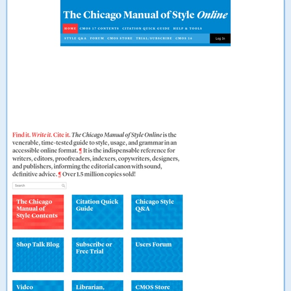 chicago manual style citations Pierce college libraries quick tips references: chicago manual of style citations need a summary of the basic guidelines for cms-style citations.
