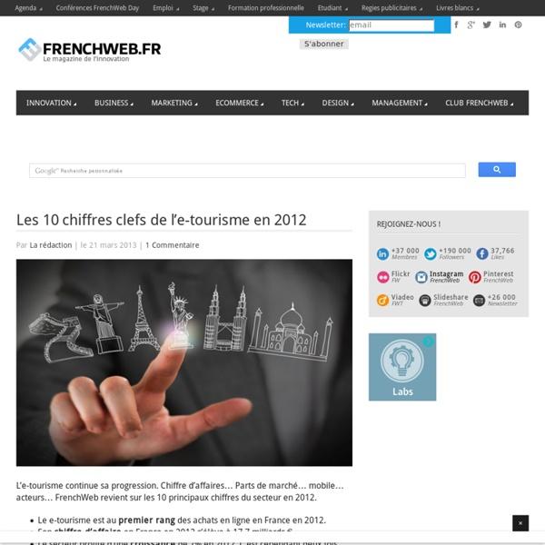 Les 10 chiffres clefs de l'e-tourisme en 2012