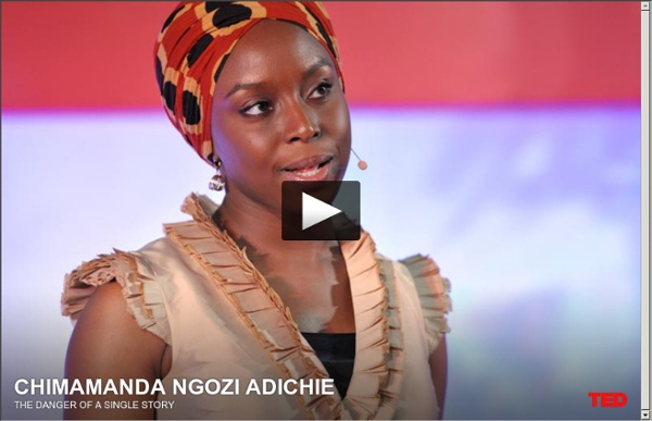 "danger single story 1 chimamanda adichie, ""the danger of a single story,"" ted video (filmed july 2009, posted october 2009), 18:49, accessed march 28, 2016 chimamanda ngozi adichie is a writer who has won several awards for her novels, short stories, and essays."