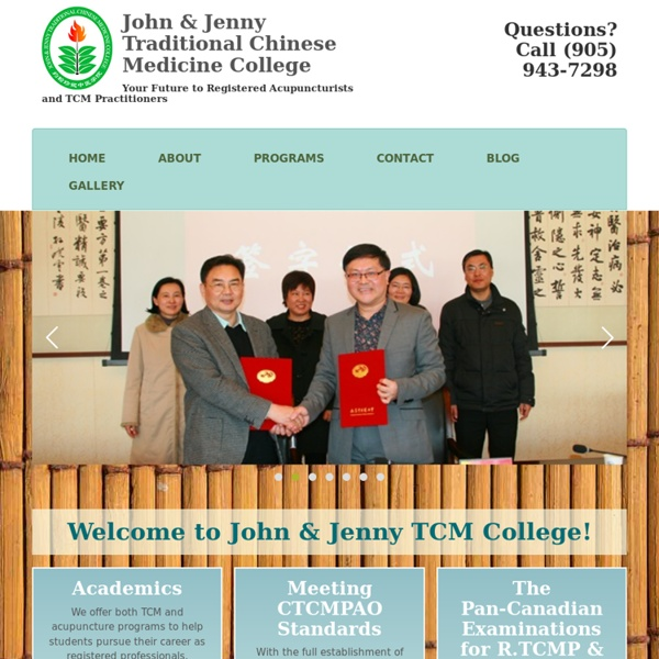 Leading Chinese Medicine College in Canada