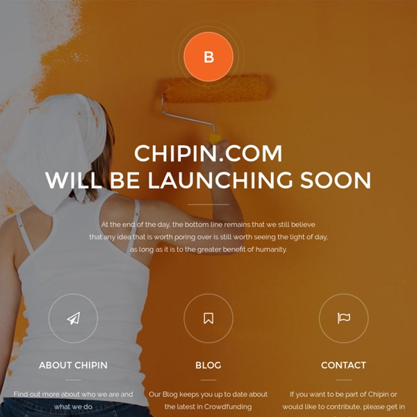 ChipIn - Group Fund Anything