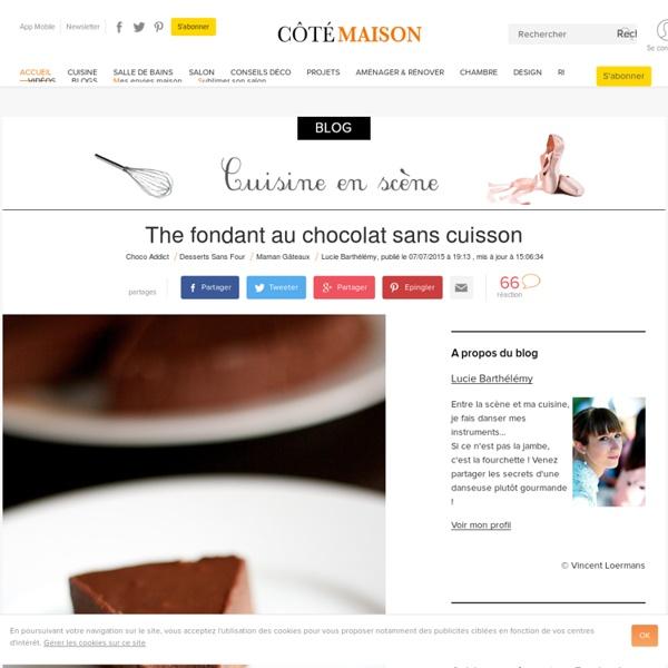 The fondant au chocolat sans cuisson