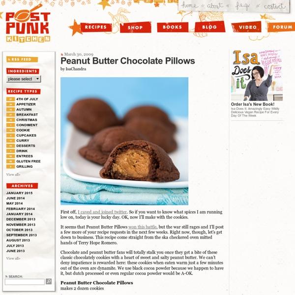 Peanut Butter Chocolate Pillows