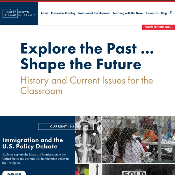 History and Current Issues for the Classroom
