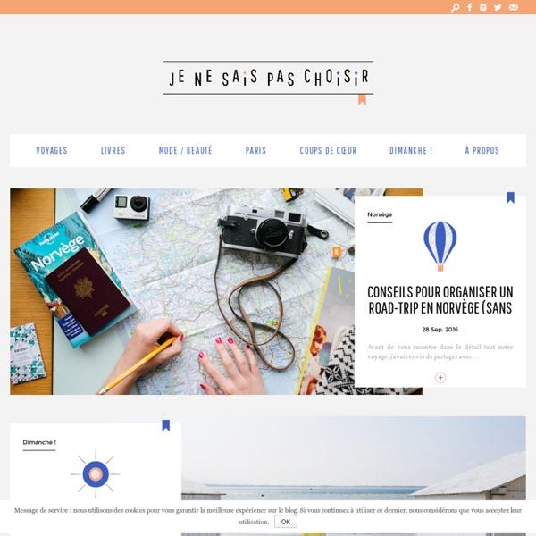Juliette - un blog féminin de chroniques, photos, voyages et littérature