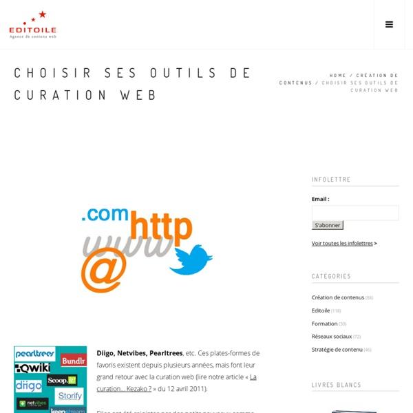 Choisir ses outils de curation web