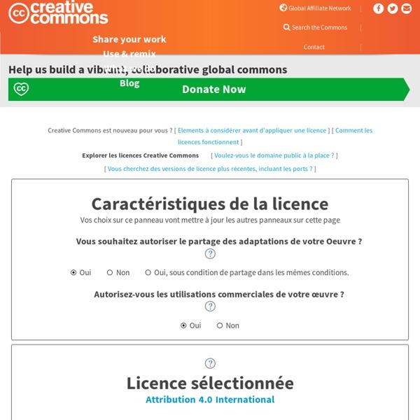 Choose a License