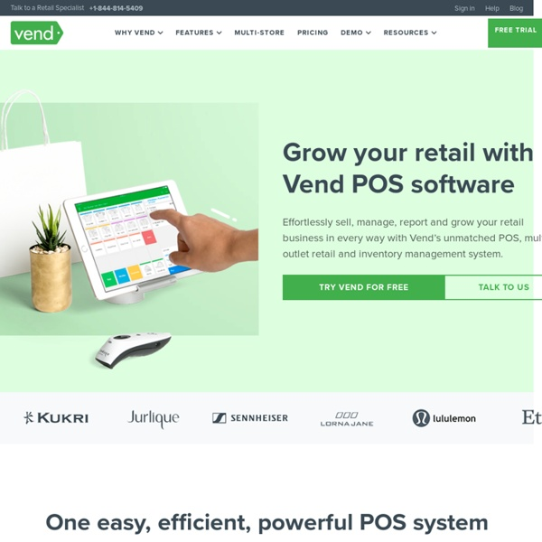 POS Software - Best Retail Point of Sale Systems