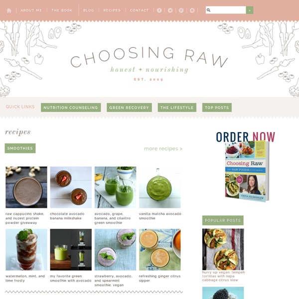 Raw Recipes