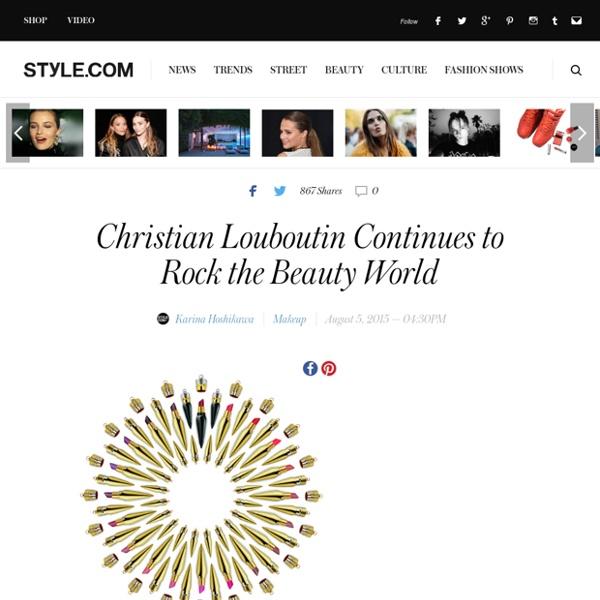 Christian Louboutin Lipstick Launch - Fall Beauty Trends