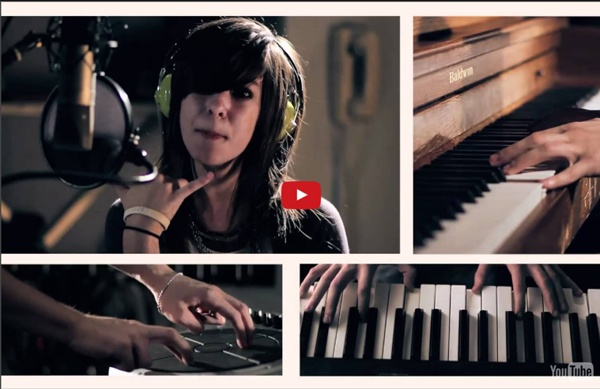 "Just A Dream"" by Nelly - Sam Tsui & Christina Grimmie"