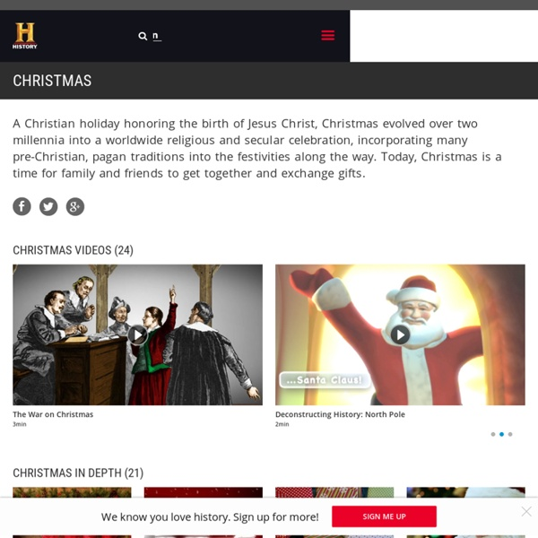 Christmas — History.com Articles, Video, Pictures and Facts