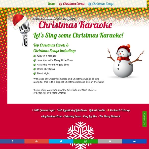 Christmas Karaoke - Sing along to Christmas Carols and Songs!
