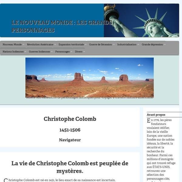 Christophe COLOMB (1451-1506)