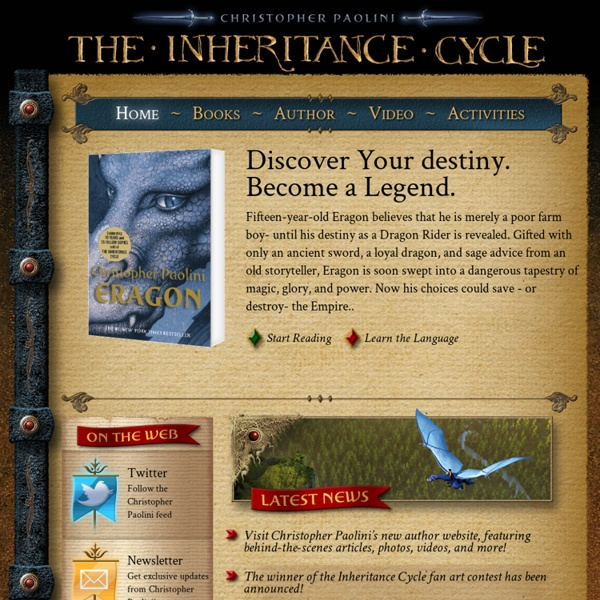 Christopher Paolini's Inheritance Cycle