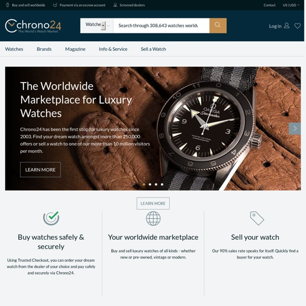 Chrono24: Buy & sell luxury watches