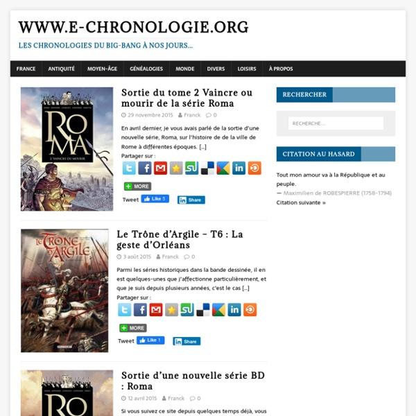 E-chronologie.org