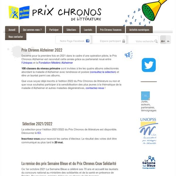 Prix de lecture Chronos