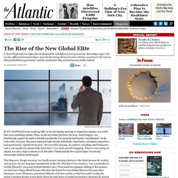 The Rise of the New Global Elite - Magazine