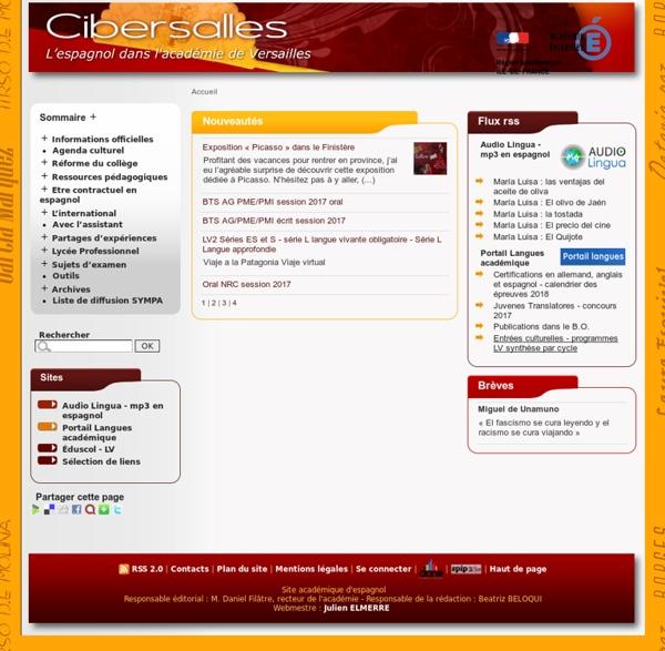 Cibersalles : l'espagnol à Versailles