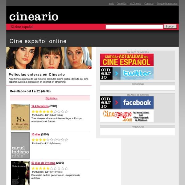 Cineario. El cine español en un clic