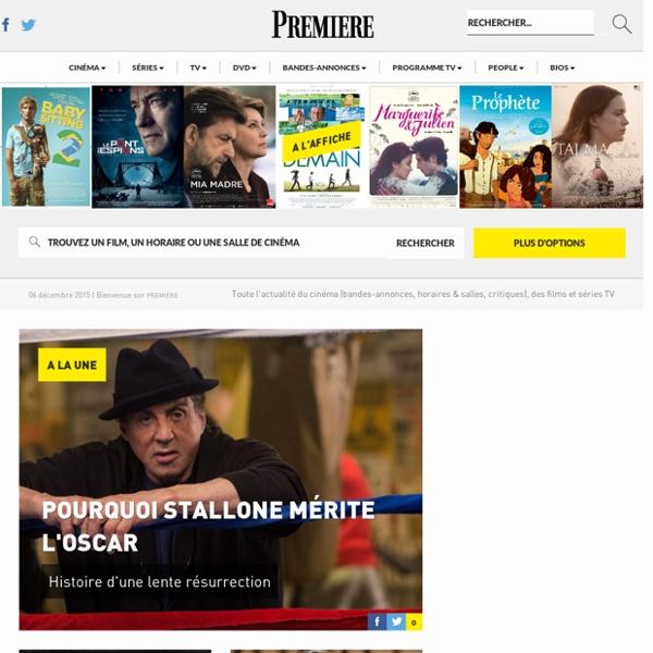 Actu cinéma, séries TV, stars - Bandes annonces - Premiere.fr
