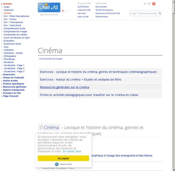 Cinéma en classe