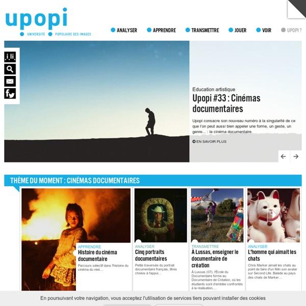 UPOPI #33 : CINÉMAS DOCUMENTAIRES