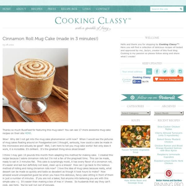 Cinnamon Roll Mug Cake (made in 3 minutes!)