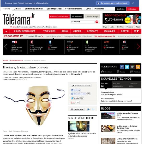 Hackers, le cinquième pouvoir - Nouvelles technos