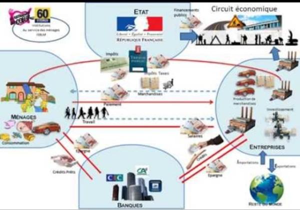 3/ Schéma circuit économique