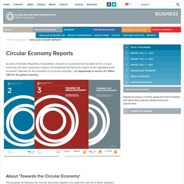 Circular Economy Reports