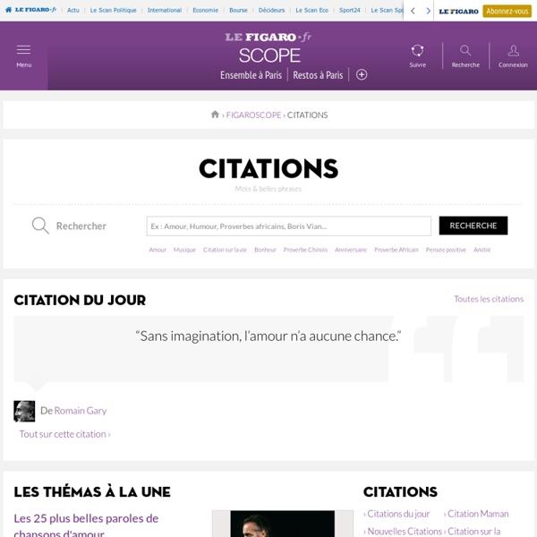 Evene : citations et proverbes célèbres