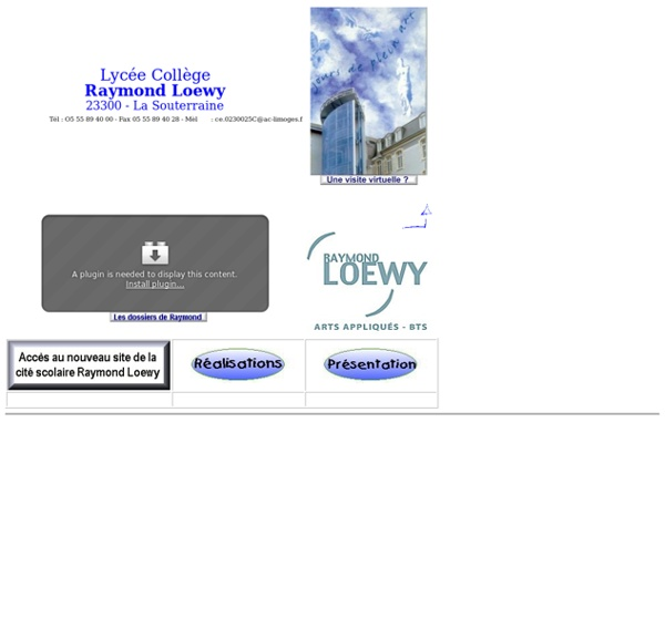 Cité scolaire Raymond Loewy