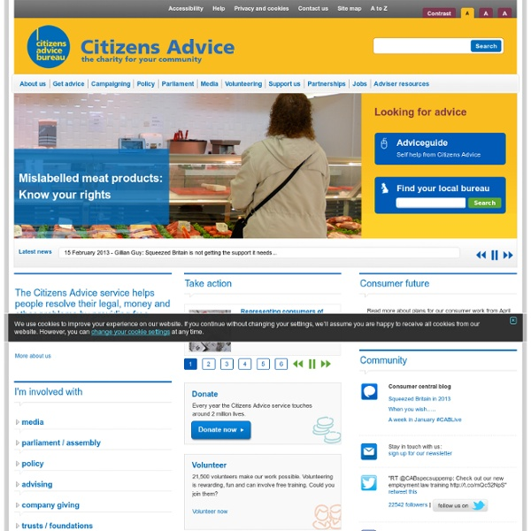 Citizens Advice  - the charity for your community