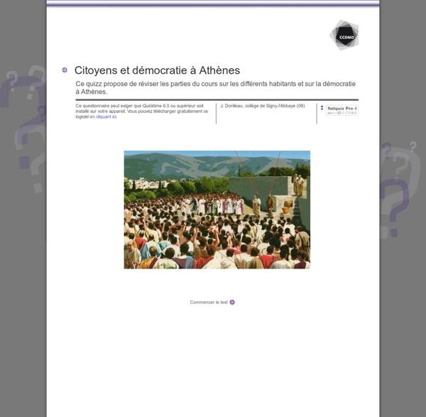 Citoyens et démocratie à Athènes