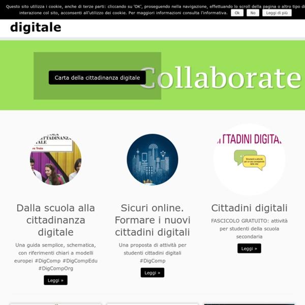 Cittadinanza digitale - cittadini competenti digitali