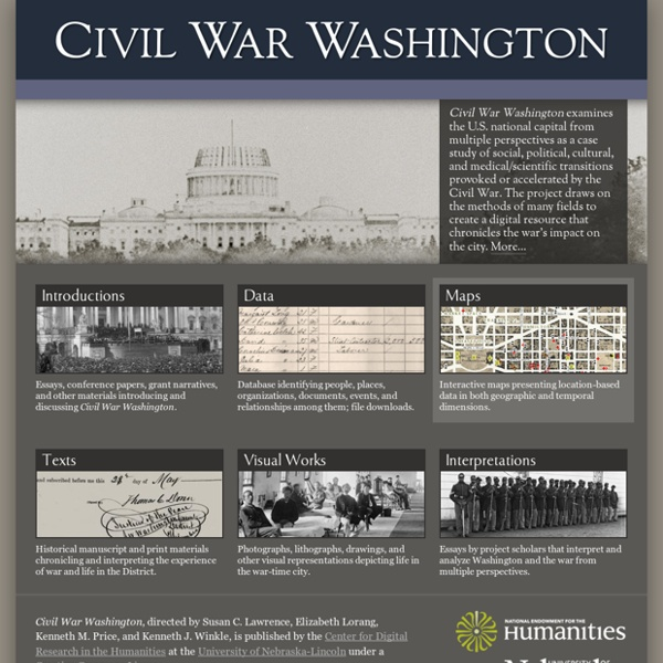 Civil War Washington
