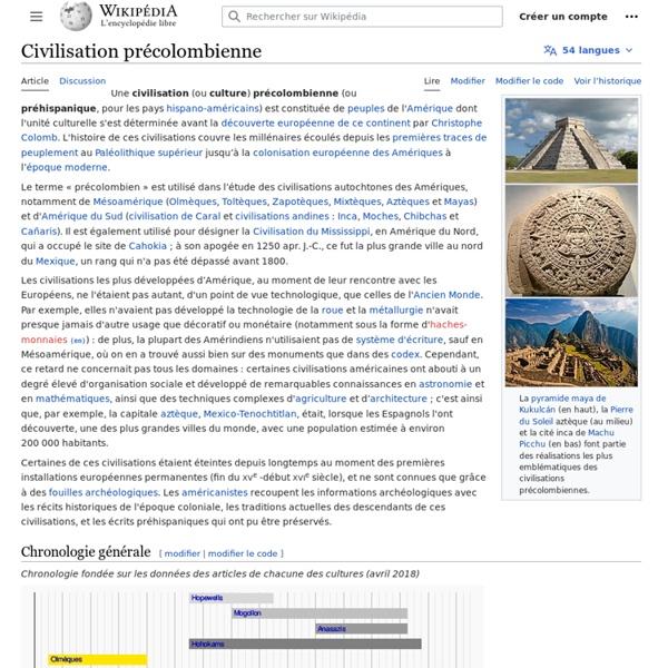 Civilisation précolombienne