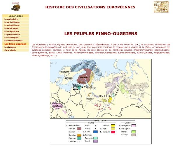 Les peuples finno-ougriens