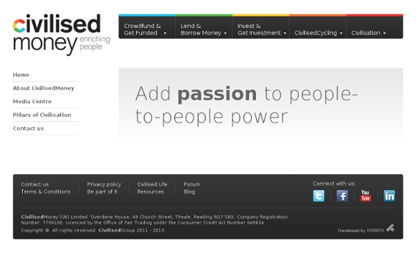 Civilisedmoney - people-to-people power!