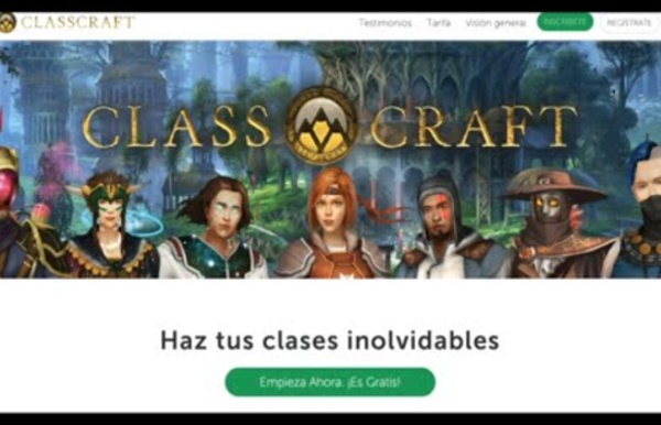 Tutorial CLASSCRAFT español #gamificación