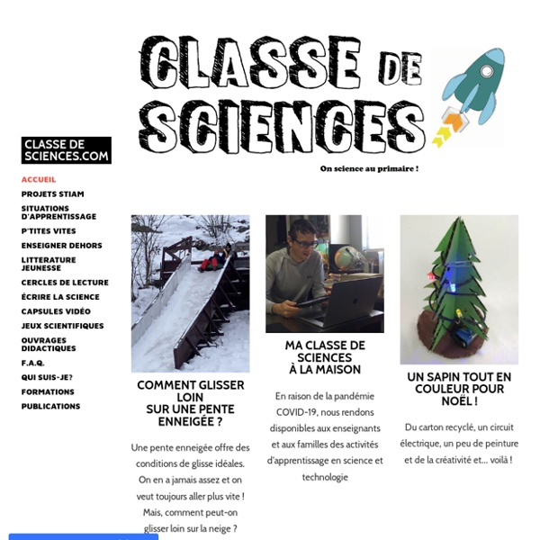 Classe de sciences